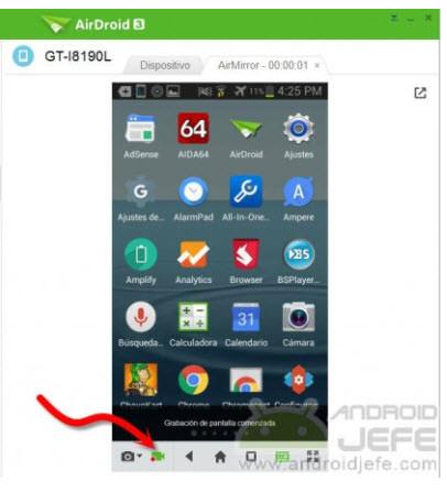ver pantalla de android roto en pc