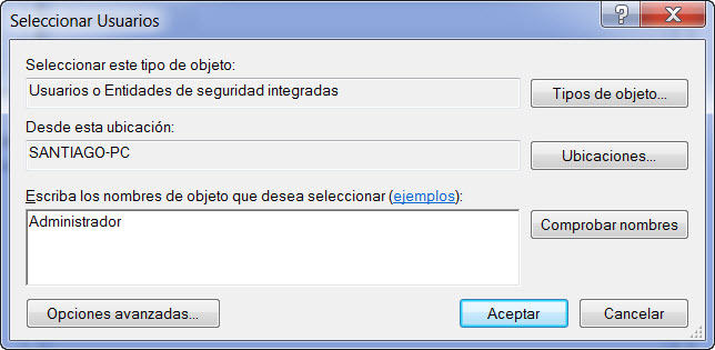 crear administrador windows