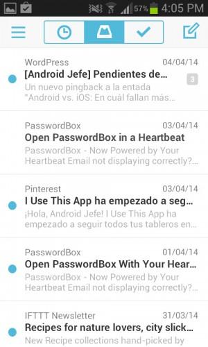 inbox de dropbox mailbox