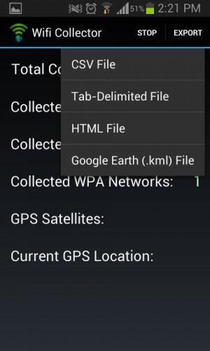 informacion wifi alrededor