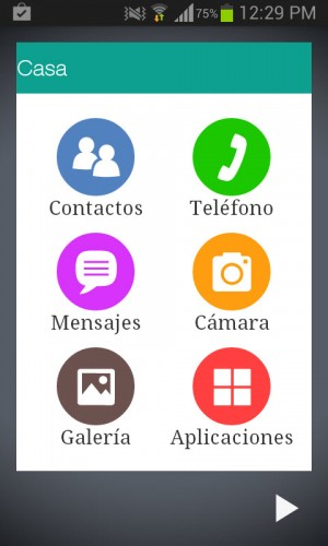 menu basico android