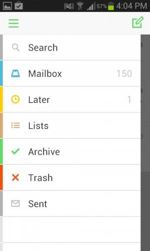 menu mailbox