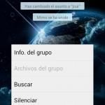 Cómo silenciar un Grupo y quitar las notificaciones en Whatsapp