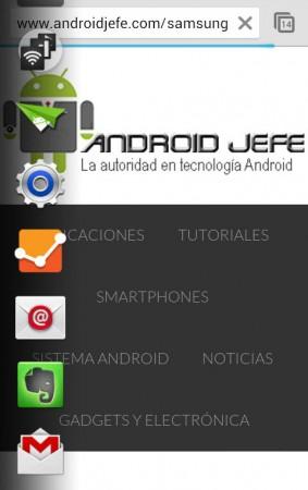 accesos directos android 3