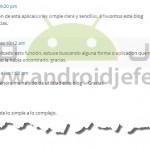 Donaciones para Android Jefe