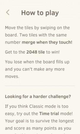 como jugar 2048