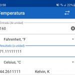 convertir unidad de temperatura aplicacion promo