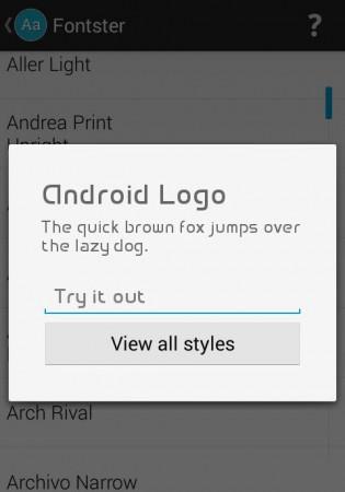 fuente android logo