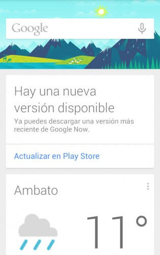 google now nueva version