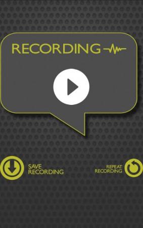 grabar voz