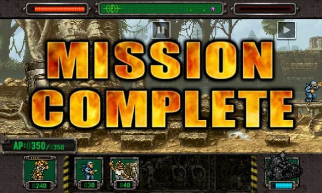 metal slug defense mision
