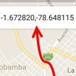 Cómo obtener COORDENADAS en Google Maps Android