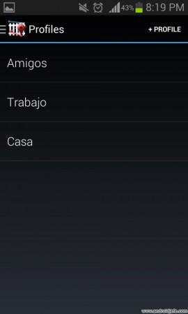 Perfiles en Android, para activar según el momento del día o la ubicación