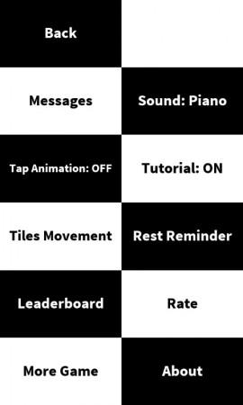 piano tiles ajustes
