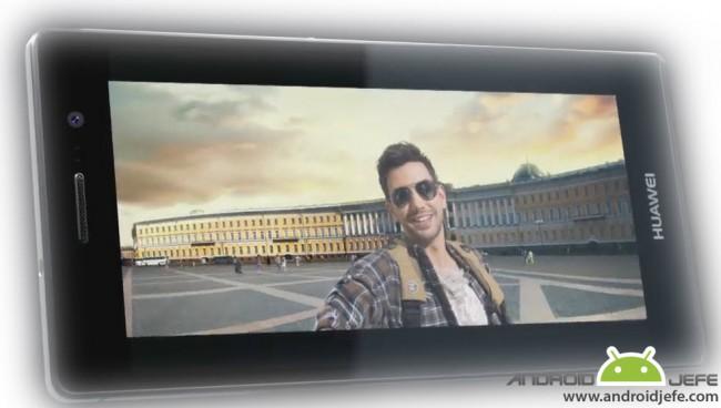 selfie panoramica