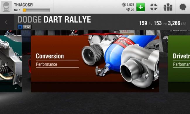 tuning racing rivals