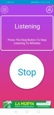 app encontrar celular por silbido iniciado