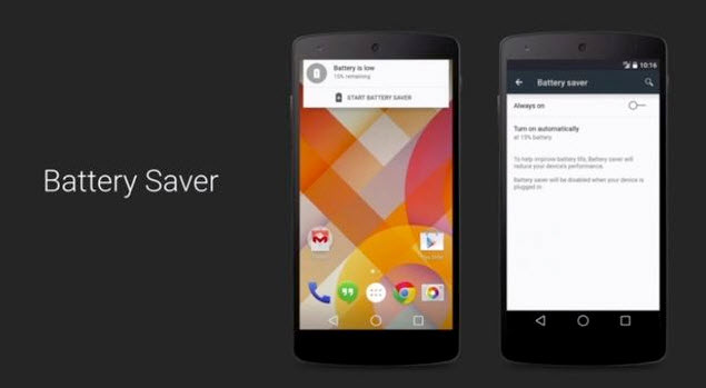 battery saver android l
