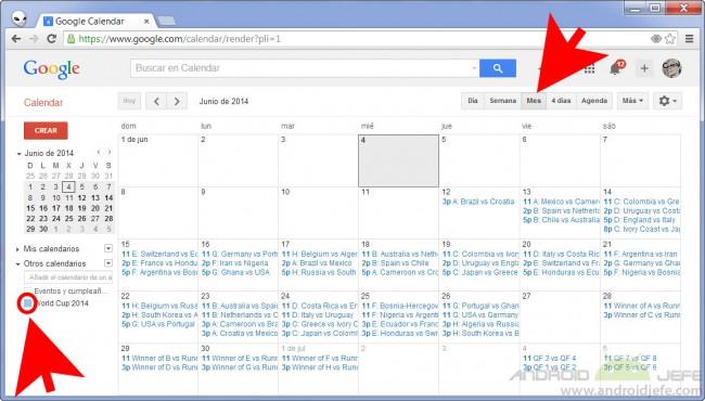 calendario mundial brasil 2014 google calendar