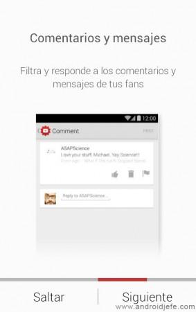 comentarios mensajes youtube administrar