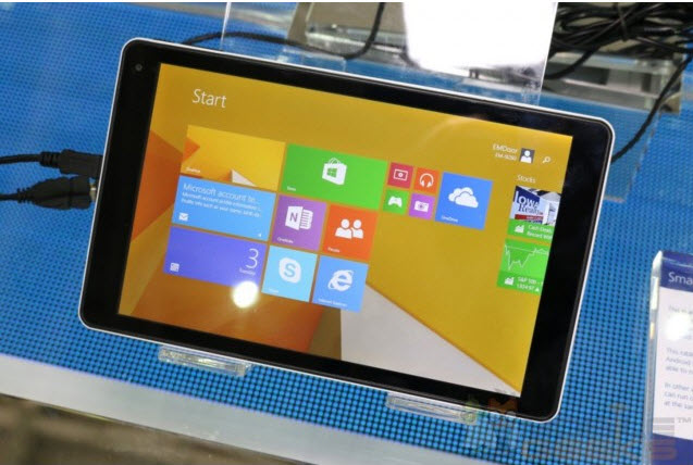EM-i8080: Tablet de 100 dólares con Windows 8.1 Full