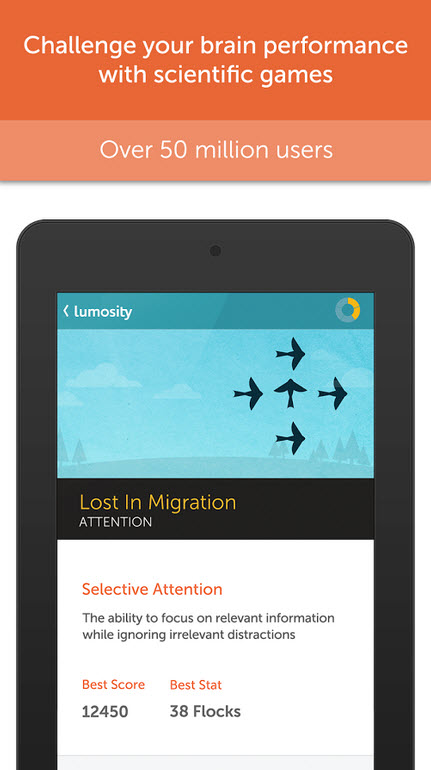 lumosity google play