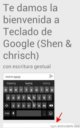 teclado de google shen y chrisch