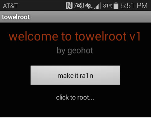 Towel Root by GeoHot