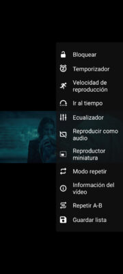 Android vlc settings