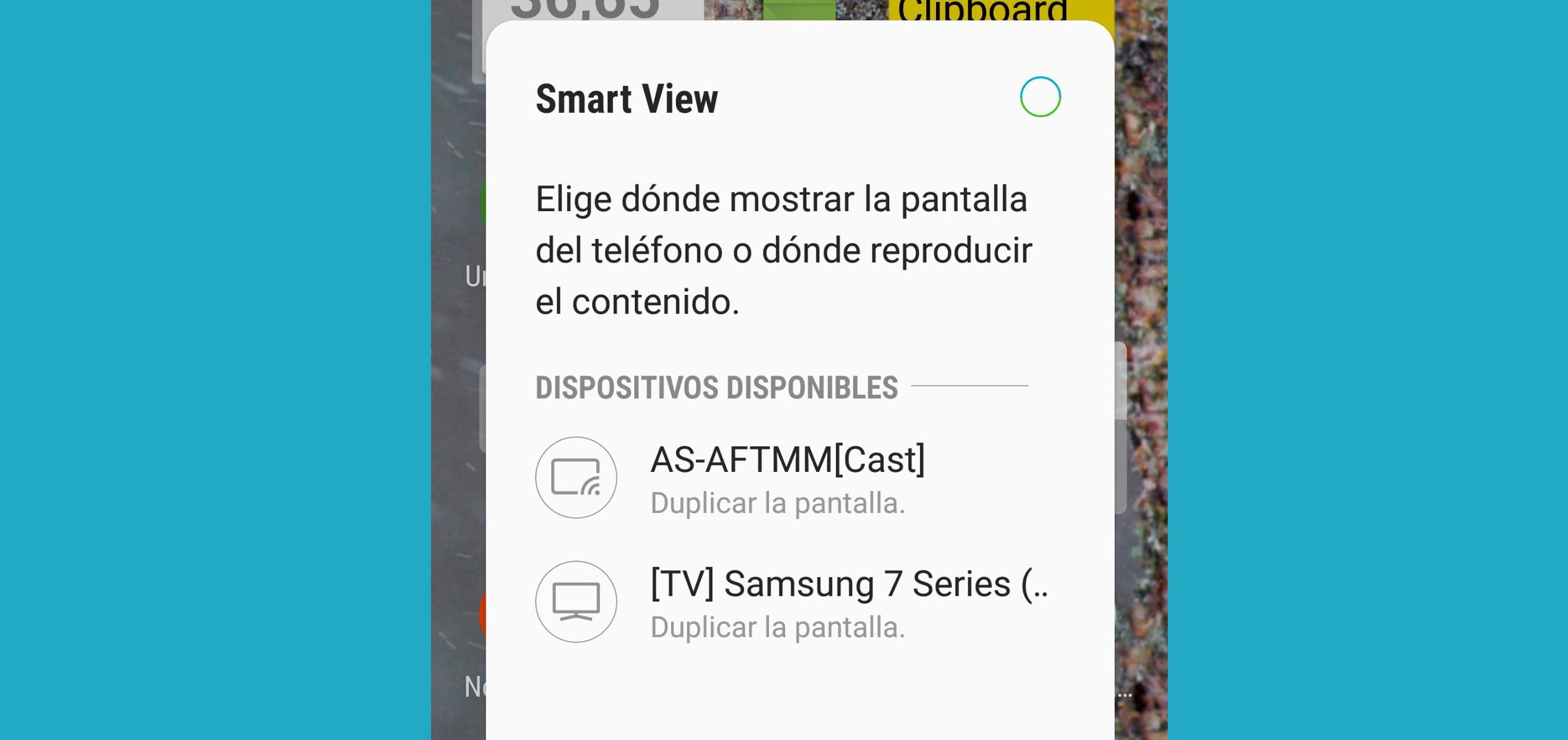 Cómo «clonar» la pantalla del celular en la TV
