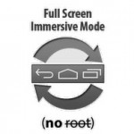 Quitar la barra superior/inferior en Android KitKat+ (SIN root): GMD Inmersivo