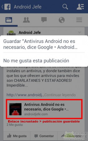 publicacion guardable facebook