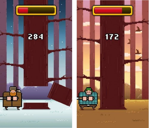 timberman para android google play