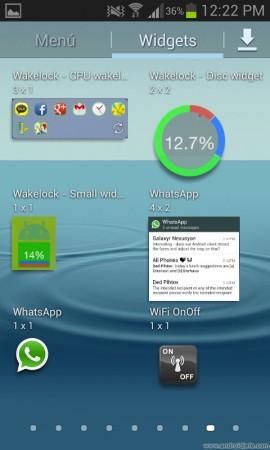 wifi onoff widgets samsung