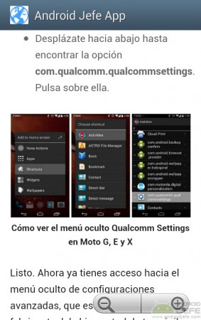 NativeWrap android jefe app navegacion