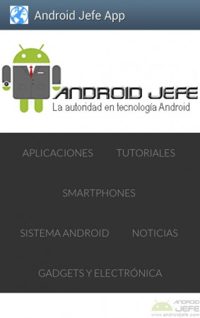 android jefe app NativeWrap