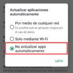 evitar que aplicaciones se actualicen automaticamente 3