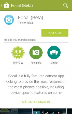 focal beta google play