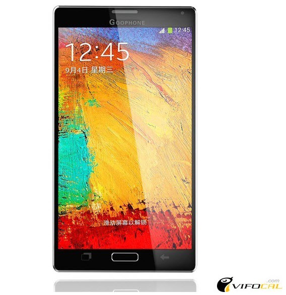 Goophone N4, foto de la réplica del Samsung Galaxy Note 4, publicada en Vifocal.com