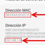 Cómo ver la MAC address y dirección IP de un celular Android