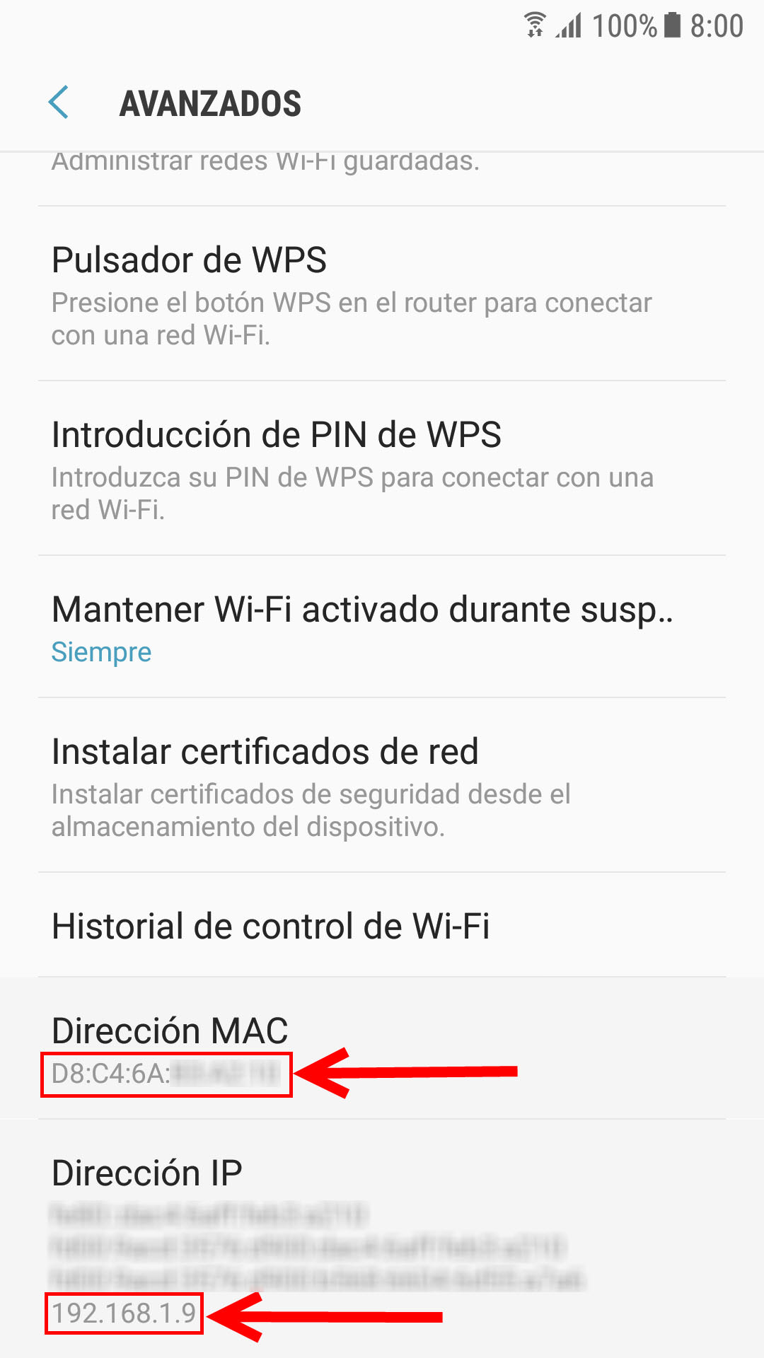 como descobrir o mac do celular android