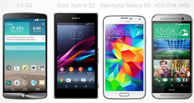 Todos son celulares Android pero, cada uno tiene sus cosillas extra, puestas por el fabricante