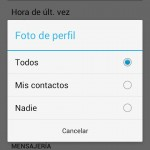 Cómo proteger mi FOTO de perfil en WhatsApp?