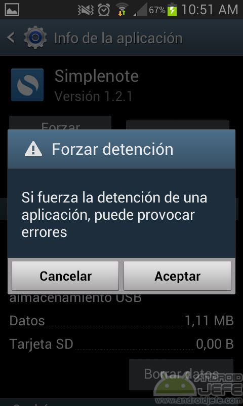 Cómo cerrar correctamente una aplicación en Android