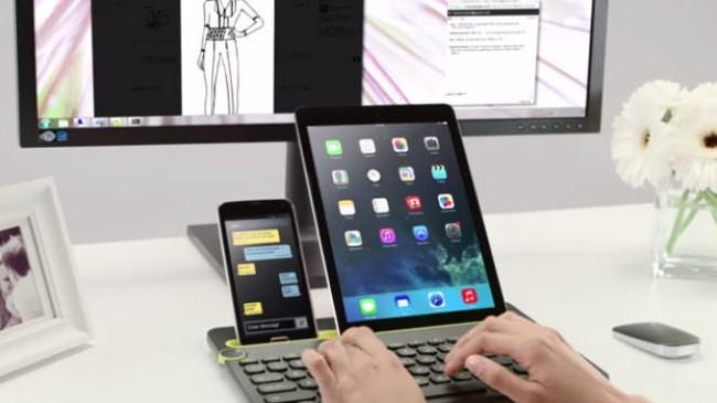 logitech teclado multidispositivo