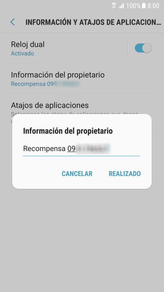 70ef43fba64 Cómo poner tu nombre en la pantalla de bloqueo • Android Jefe