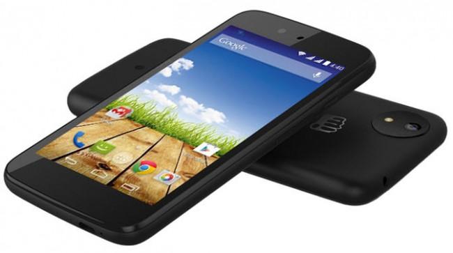 """Teléfono """"Android One"""" del fabricante MicroMax"""
