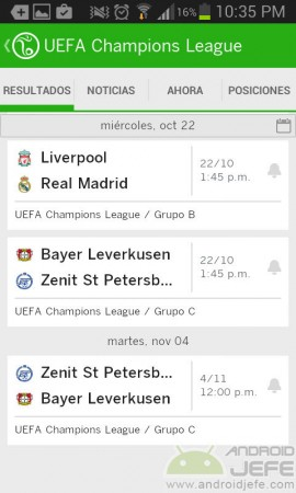 ESPN FC mejores aplicaciones android futbol