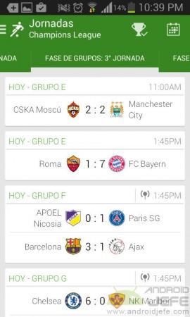 OneFootball mejores aplicaciones futbol