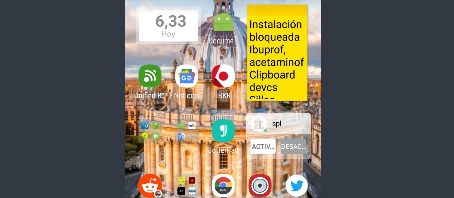 La solución definitiva a una pantalla de inicio llena de iconos